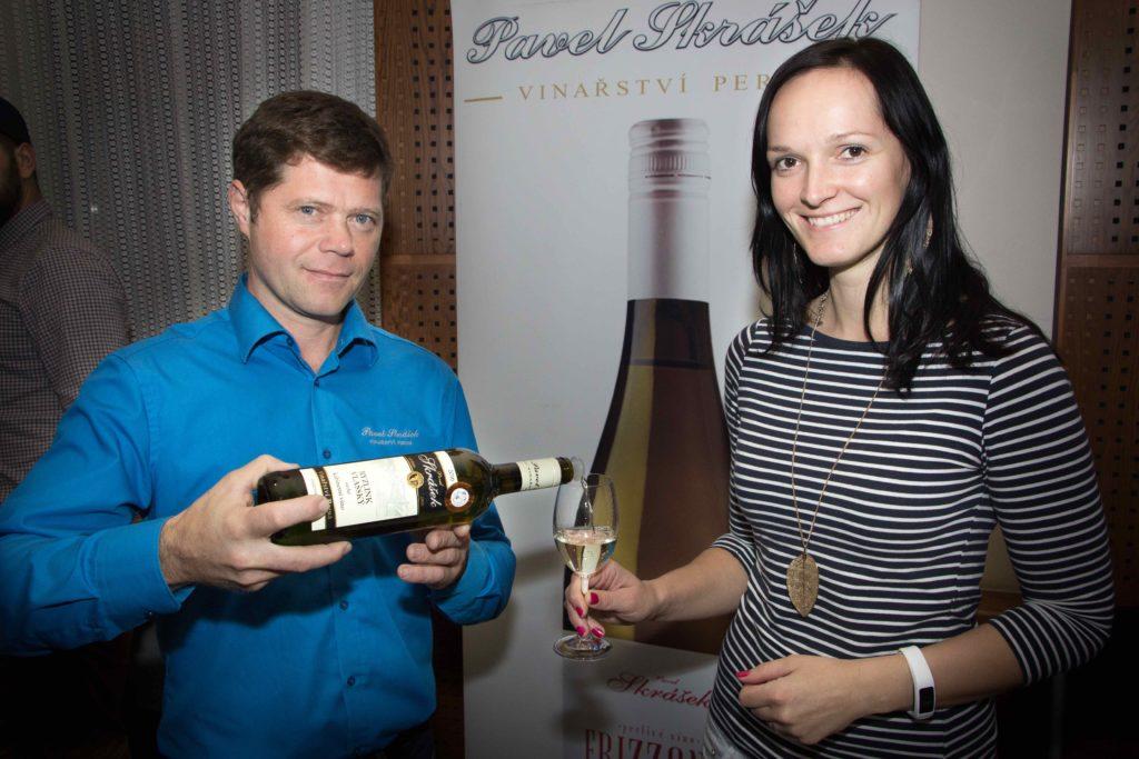 Vinařství Skrášek na Slánském salonu vín